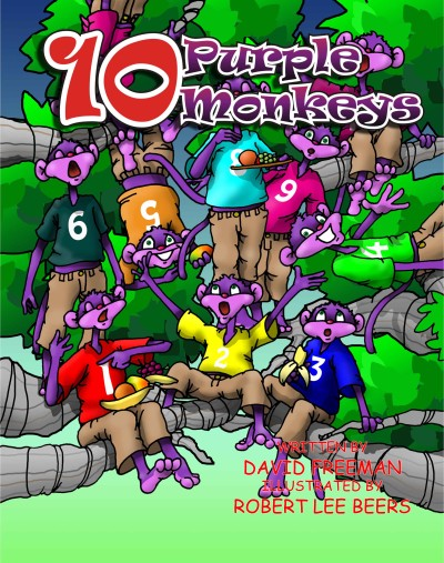 10 Purple Monkeys